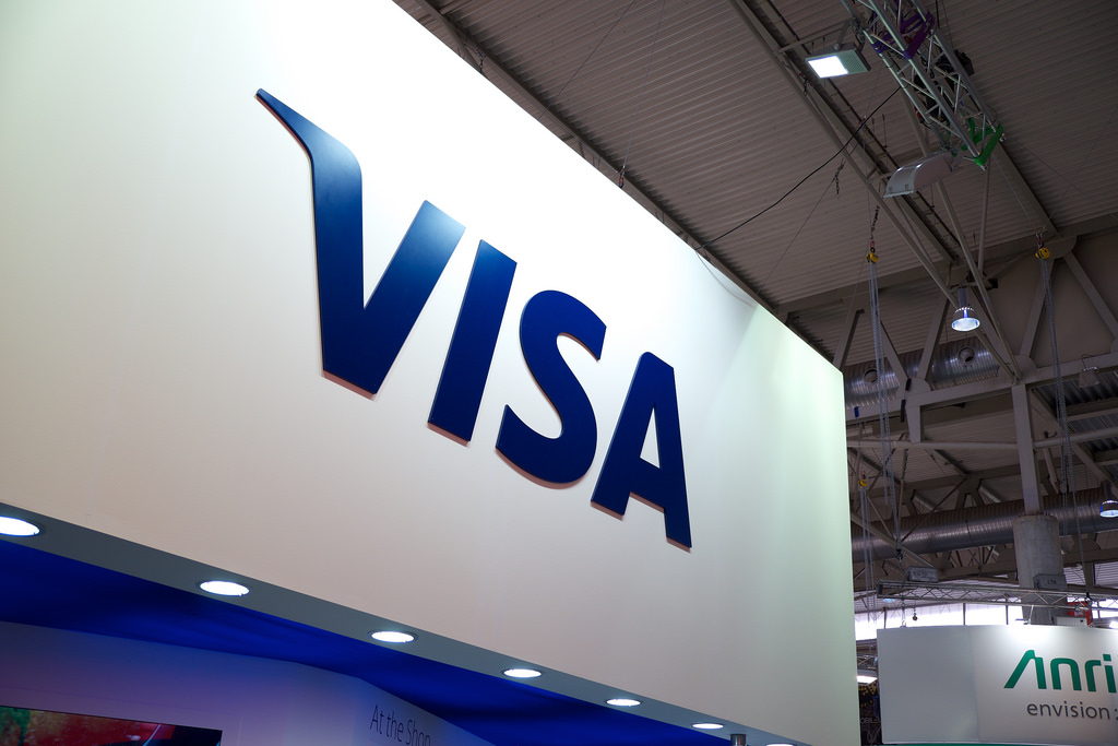 Powered by Visa, PayPal comes to a store near you