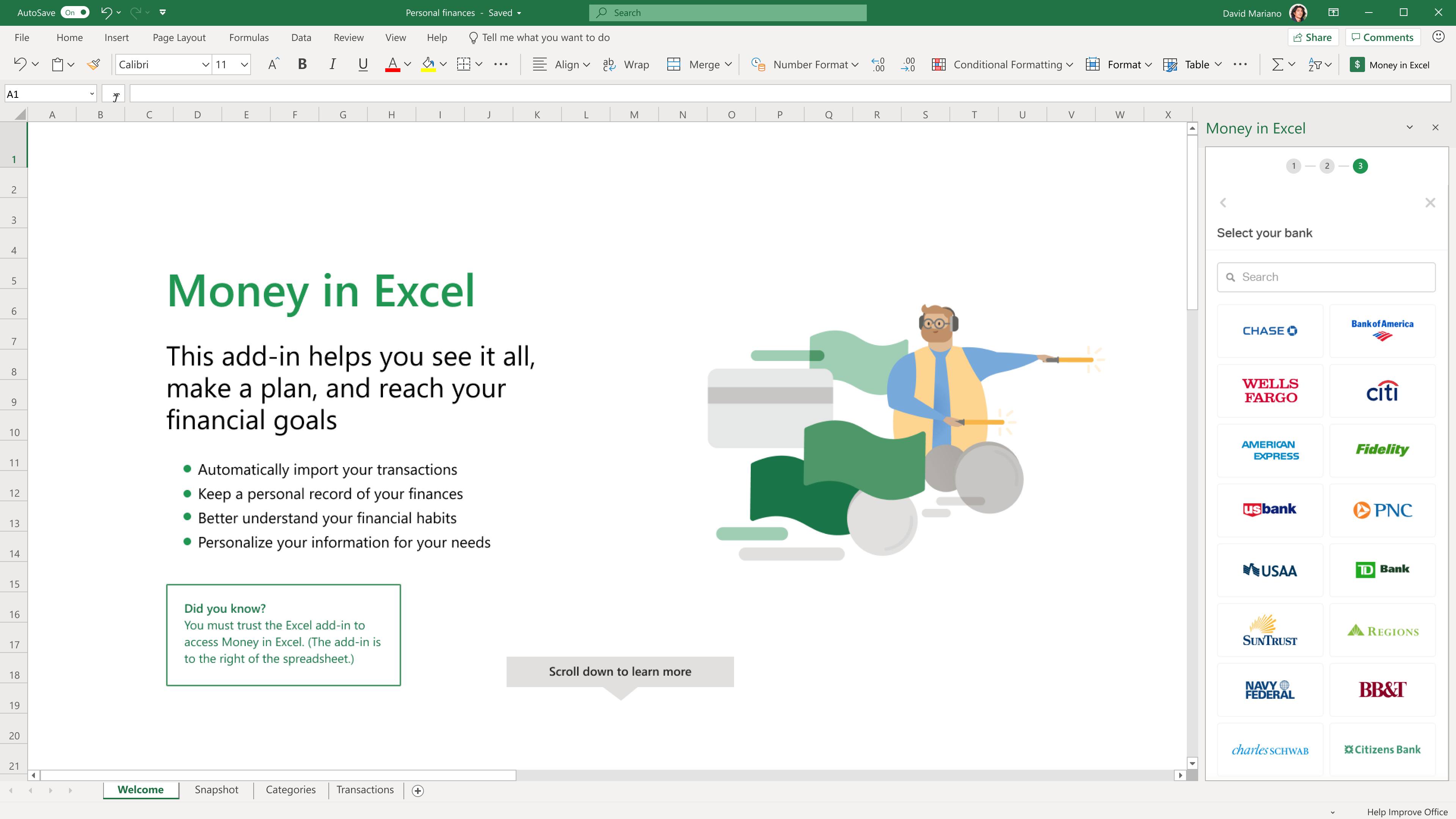 With Plaid partnership, Microsoft Excel is now a fintech app